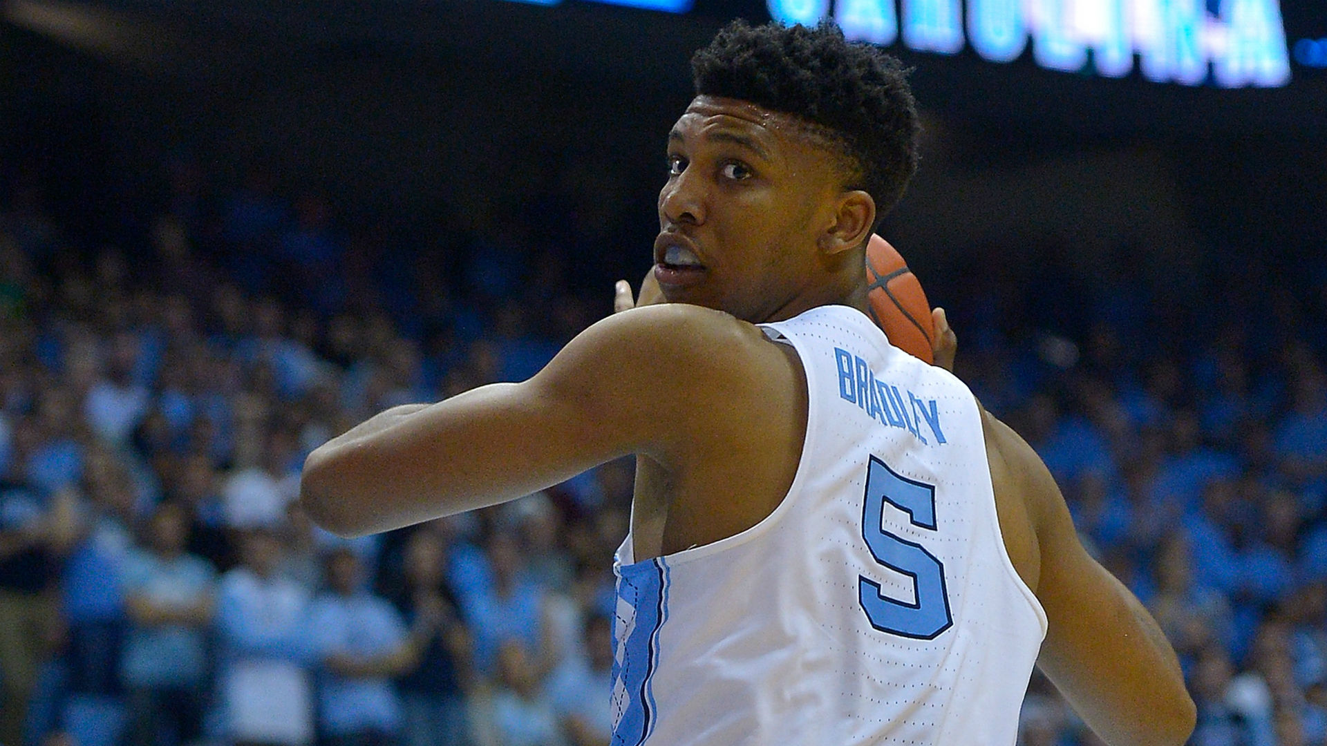UNC's Tony Bradley to remain in NBA Draft