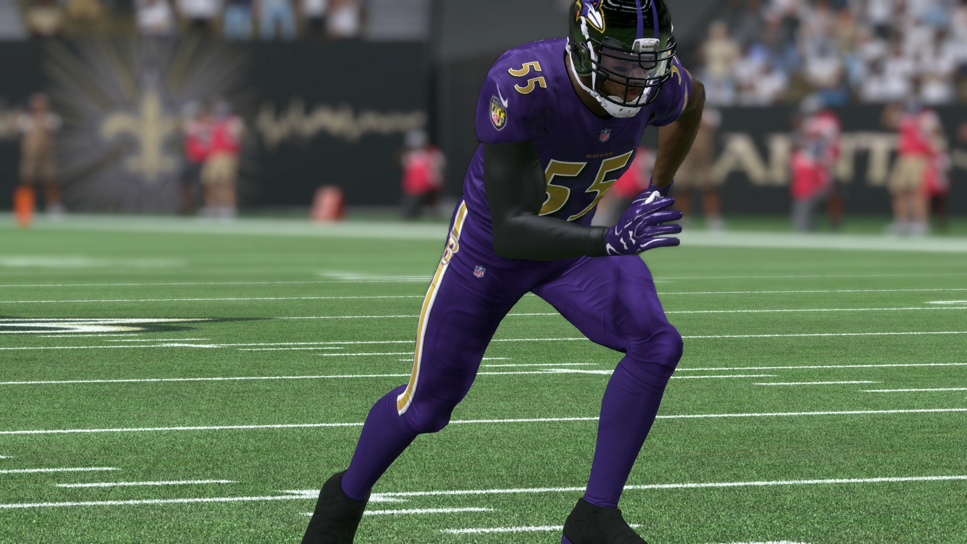 ravens color rush jersey