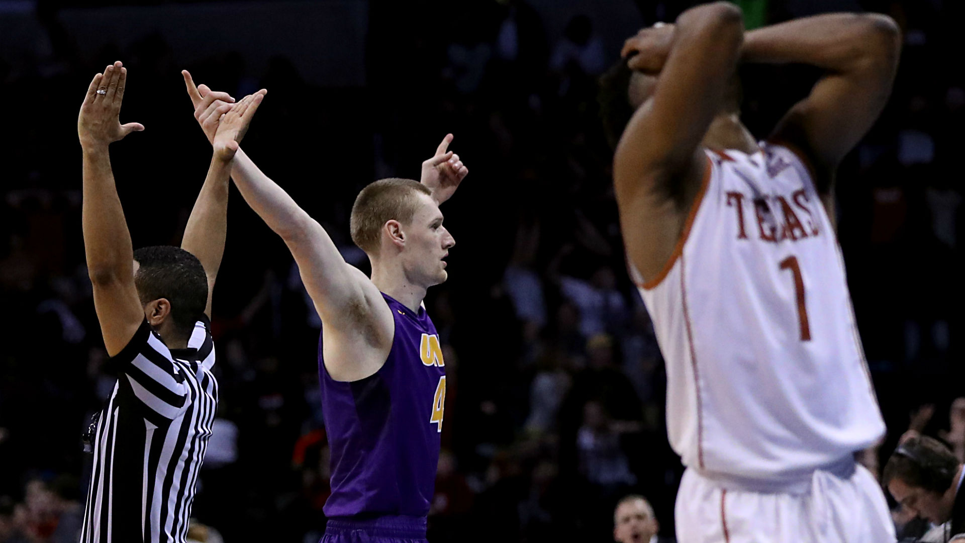 Image result for northern iowa buzzer beater