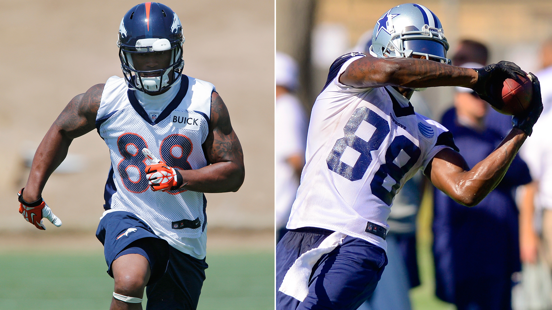The Decider: Demaryius Thomas vs. Dez Bryant