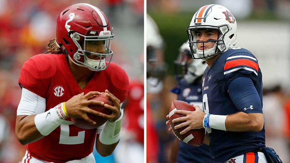 College Football Picks Week 13 Alabama Auburn At Center Of