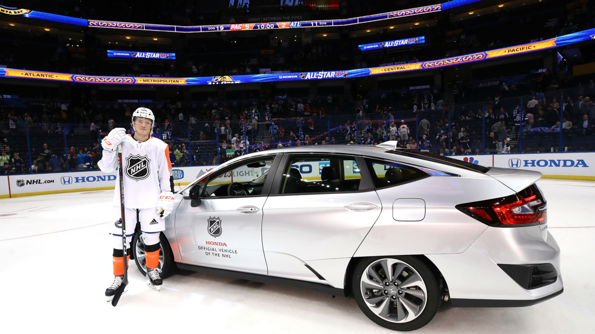 Lightning Shine at the All-Star Game