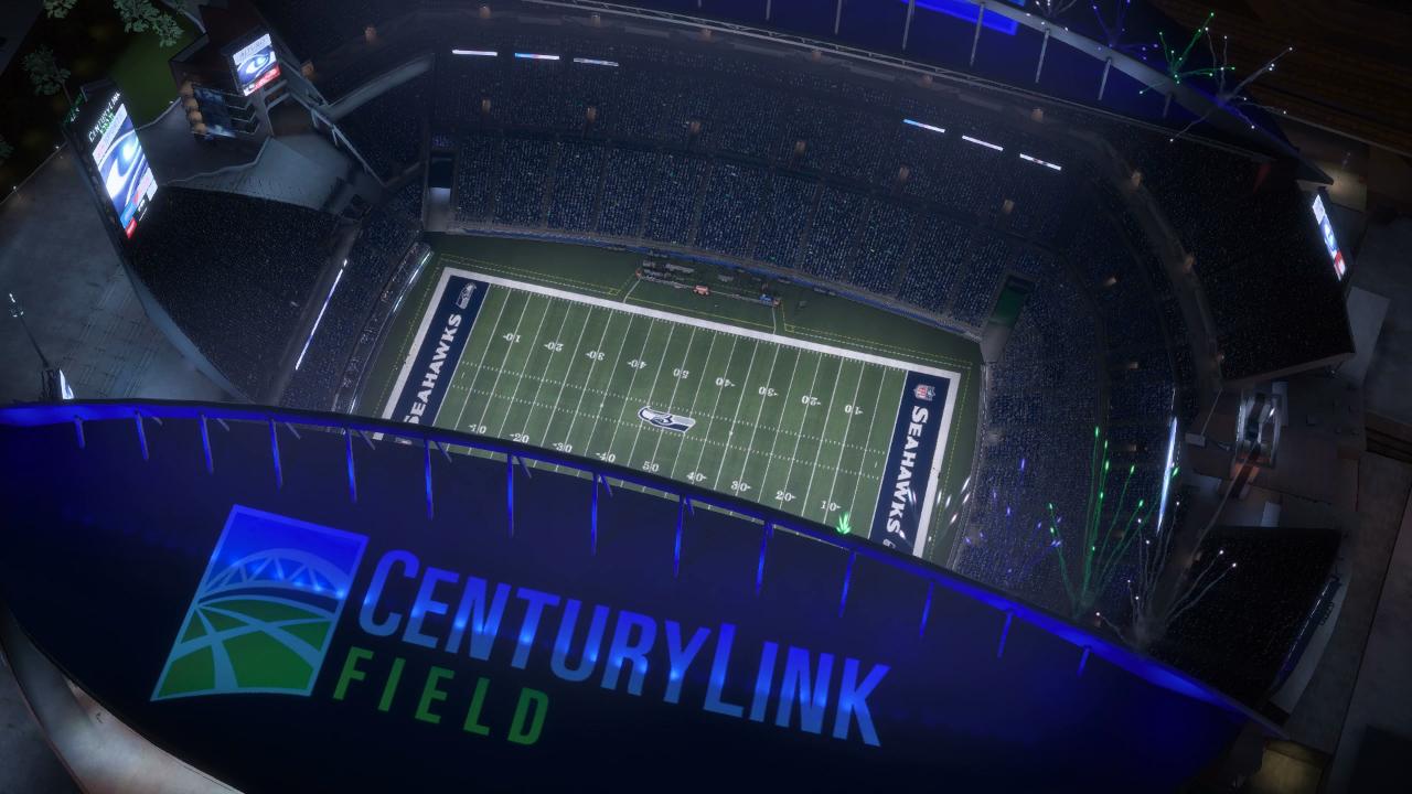 Madden NFL 18 CenturyLink Field