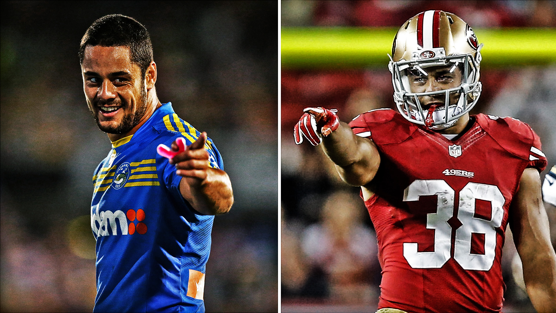 085422902 Former rugby star Jarryd Hayne clears first hurdle with 49ers  now real  work begins · NFL