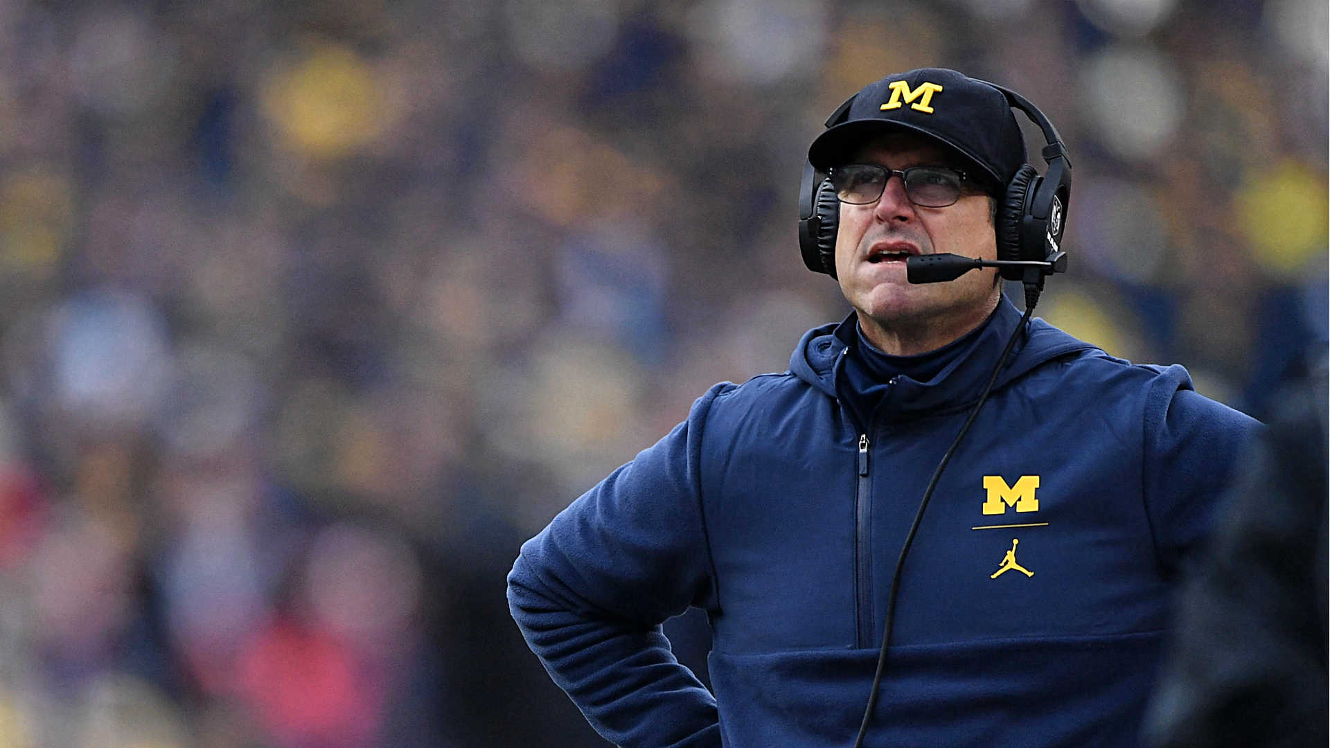 Jim Harbaugh takes responsibility for Ohio State failure, but when will he show it?