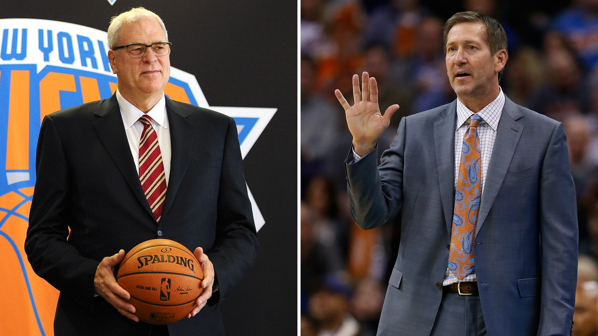 Phil Jackson puts his Knicks legacy in hands of stranger with Jeff