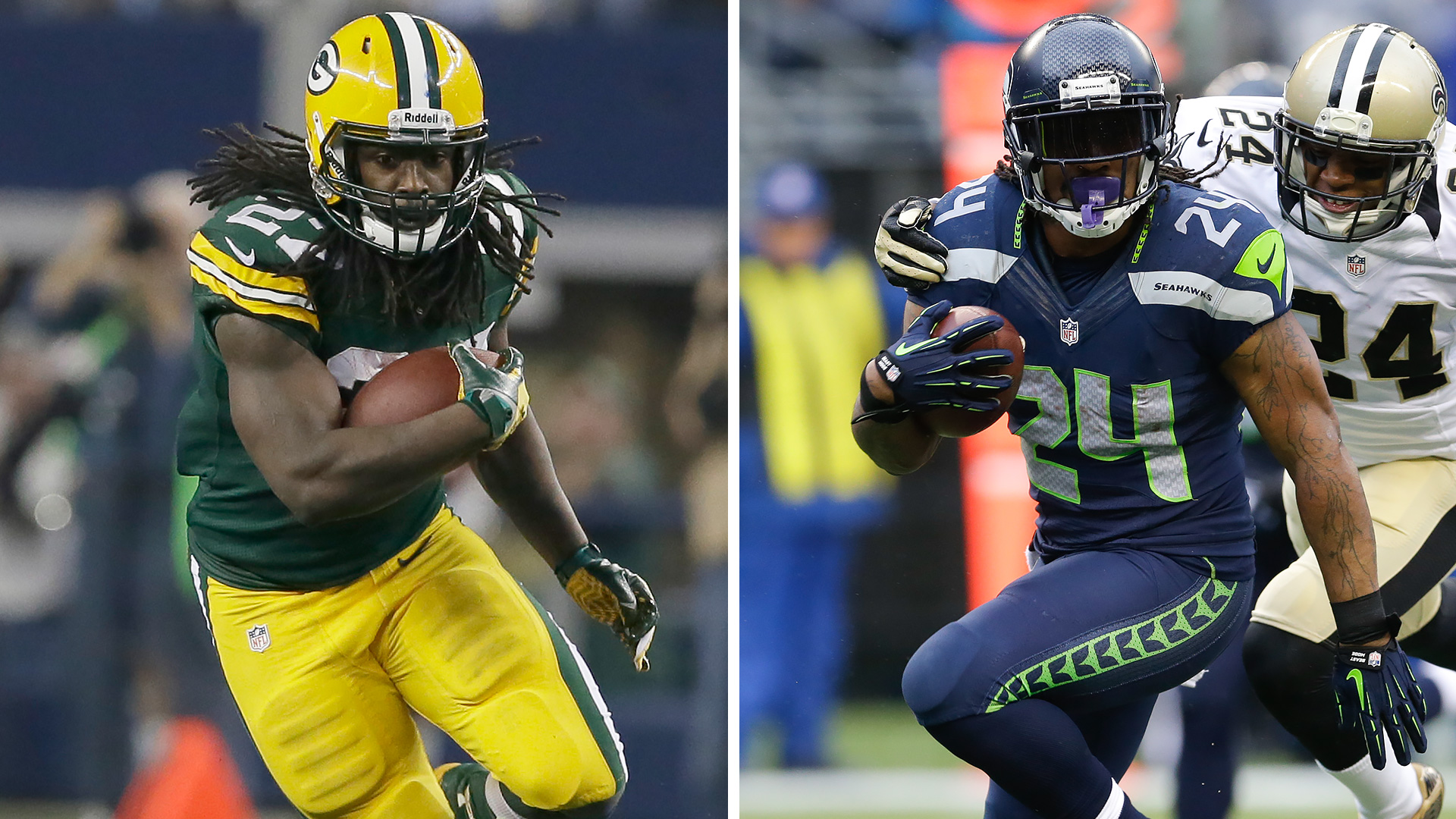 The Decider: Eddie Lacy vs. Marshawn Lynch