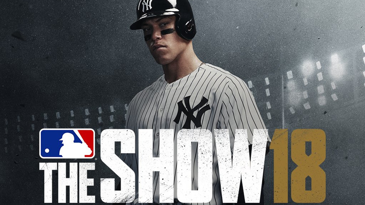 Aaron Judge On Leaked MLB 18: The Show Cover