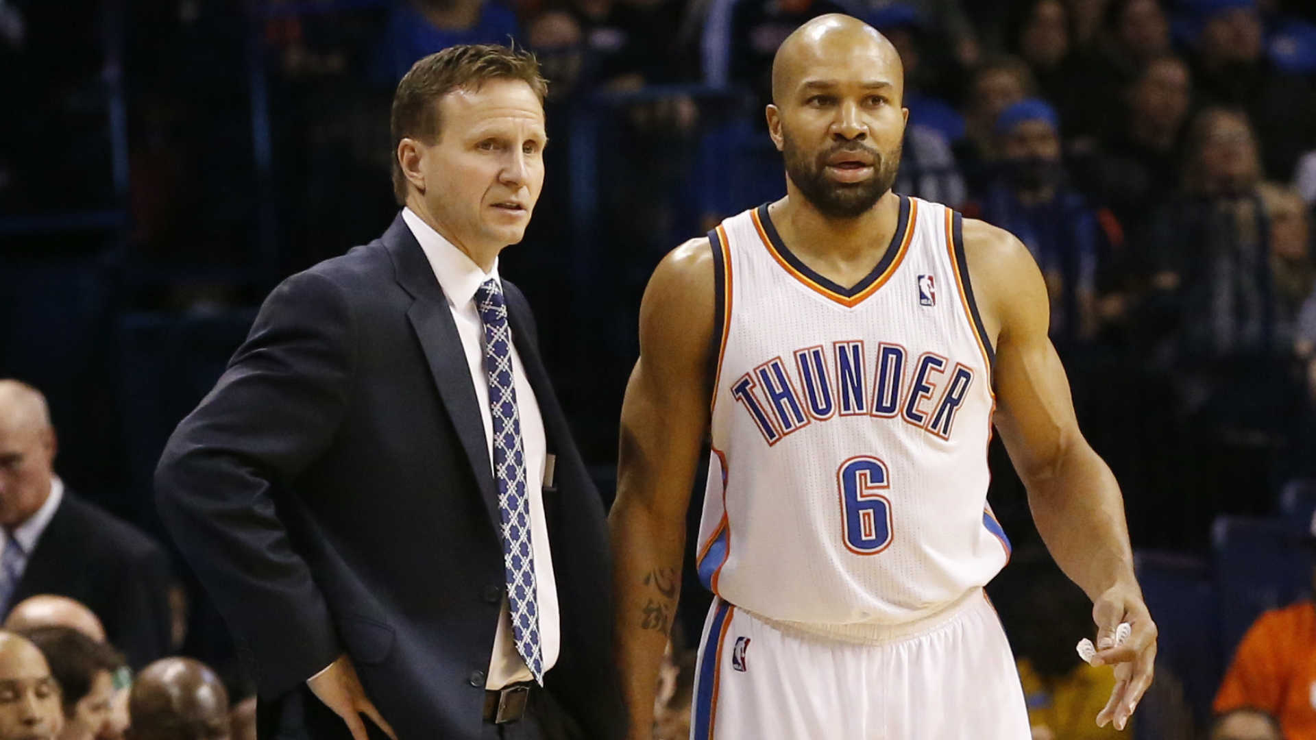 Scott Brooks-Derek Fisher-060114-AP-FTR.jpg