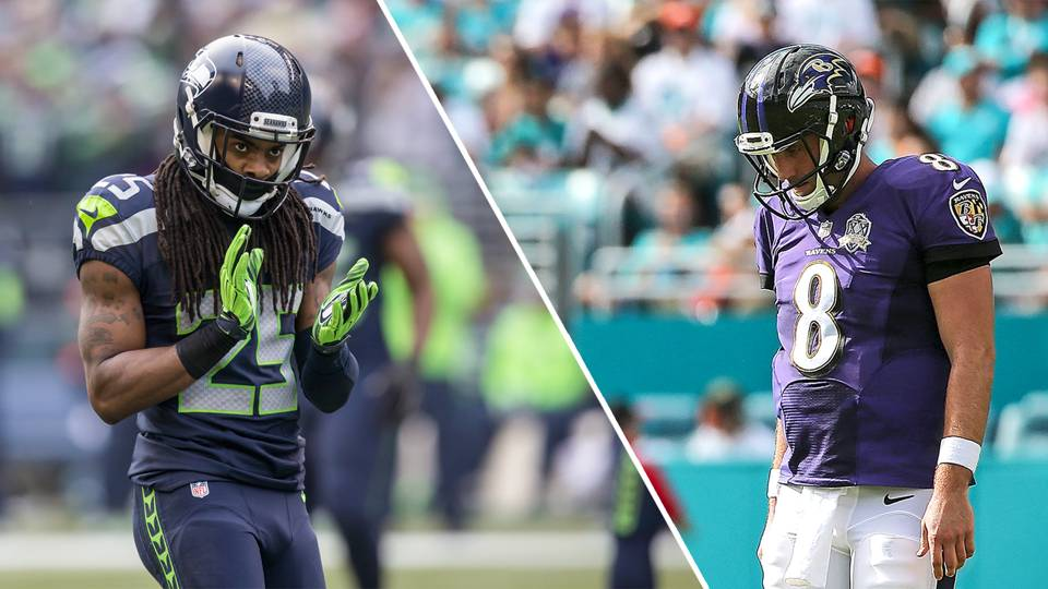 Week 14 fantasy football rankings, D/ST: Ravens against the Seahawks ...