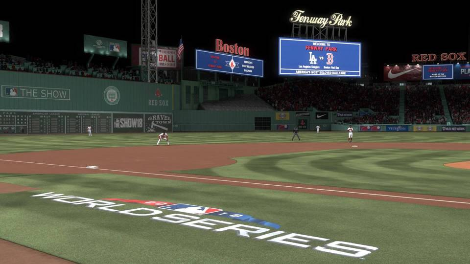 MLB The Show 18 World Series Red Sox Dodgers