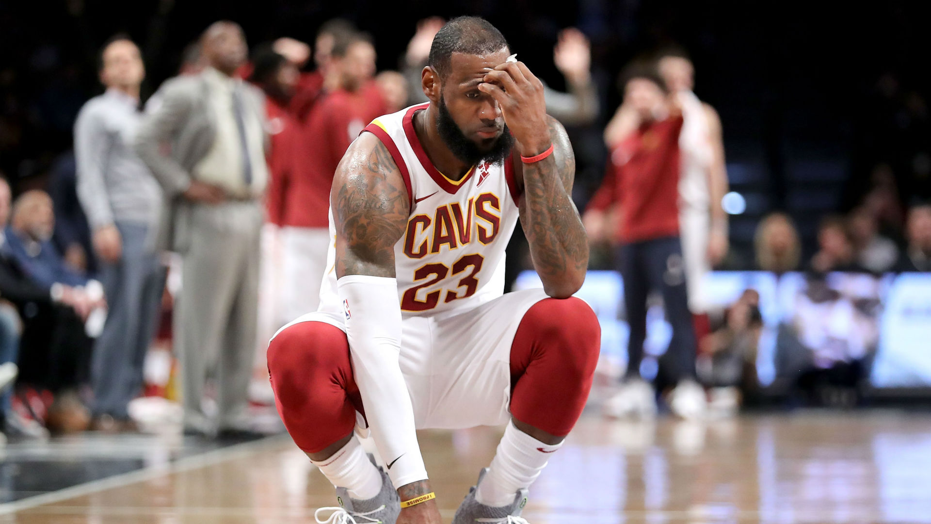 LeBron James, Cavs working against history after loss No ...