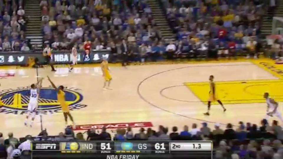 Stephen curry has unlimited range stephen curry beats the buzzer