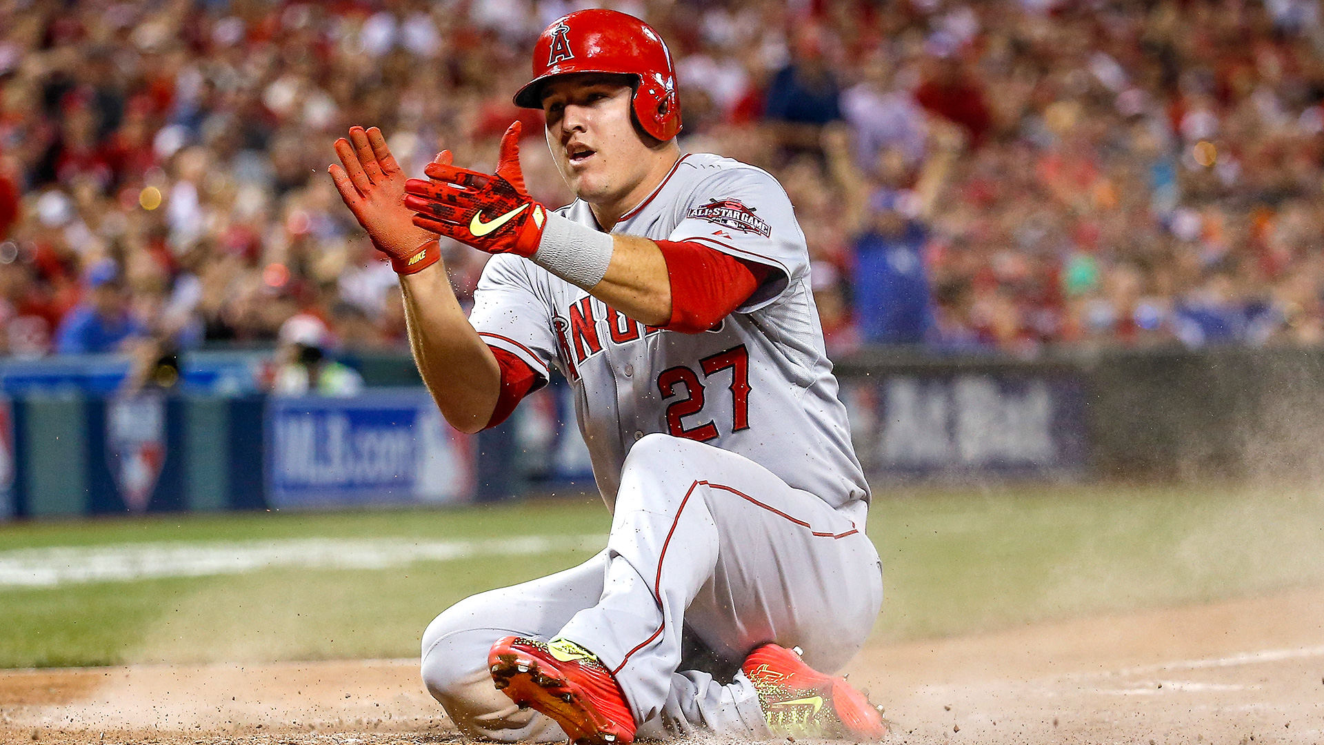 Image result for Mike Trout 2016