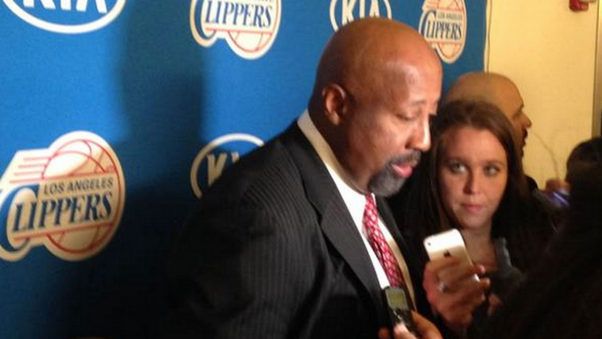 Doc Rivers lets Mike Woodson handle press conference after