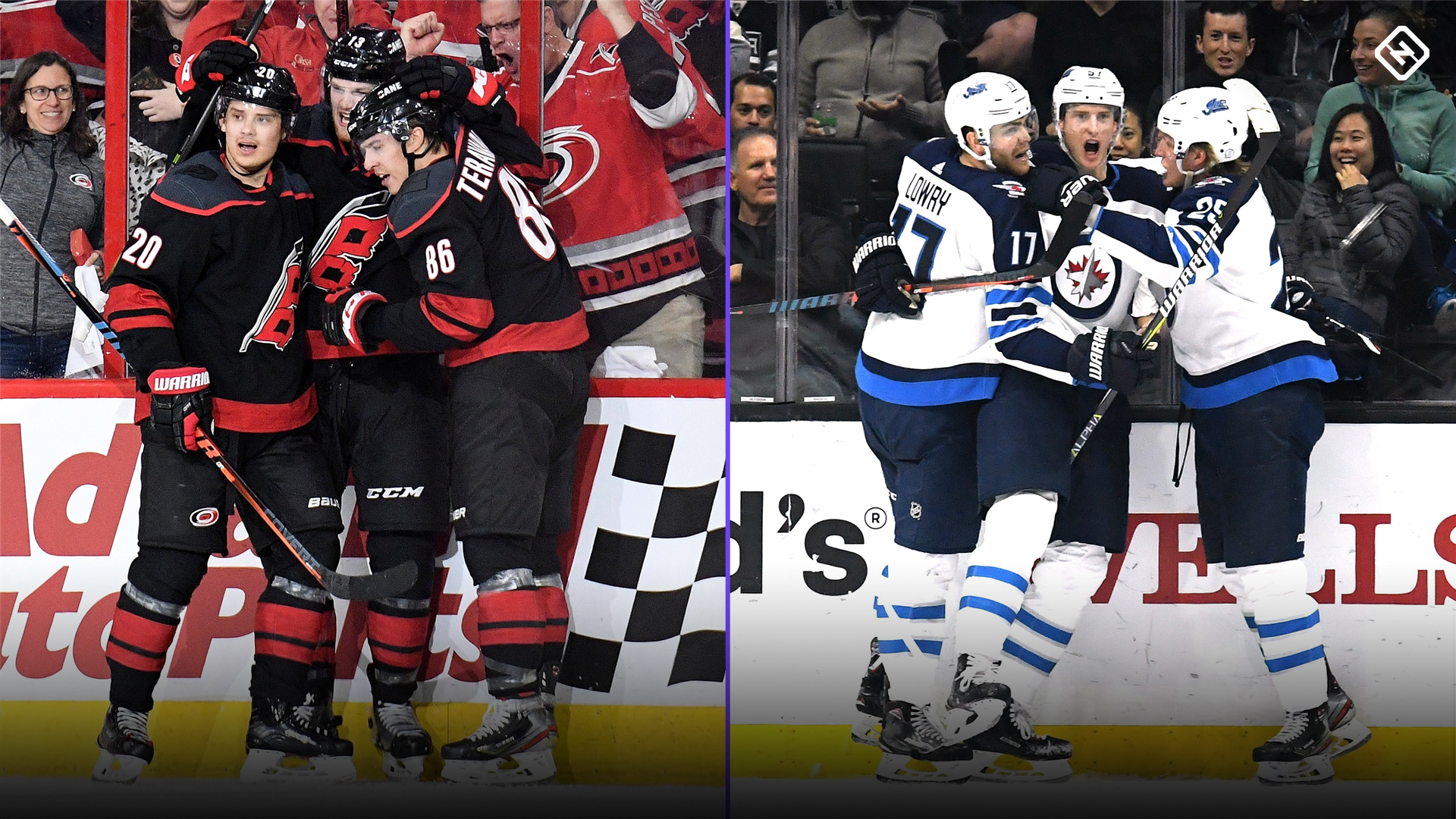 NHL playoffs 2019: Jets and Hurricanes make history with first-minute goals