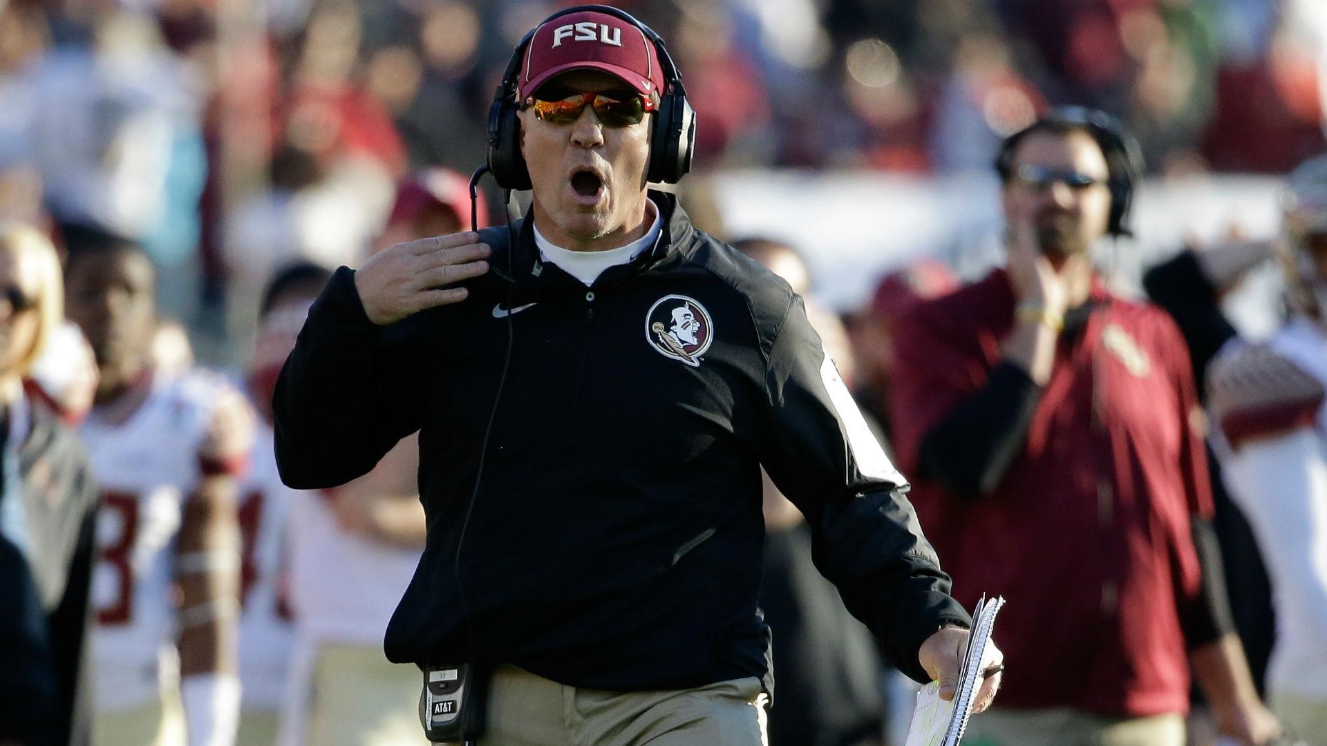 Jimbo Fisher regains control when Seminoles take field