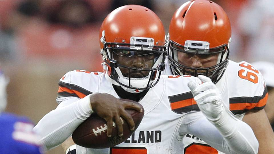 Tyrod Taylor confirms he's the only correct QB choice for Browns in 2018