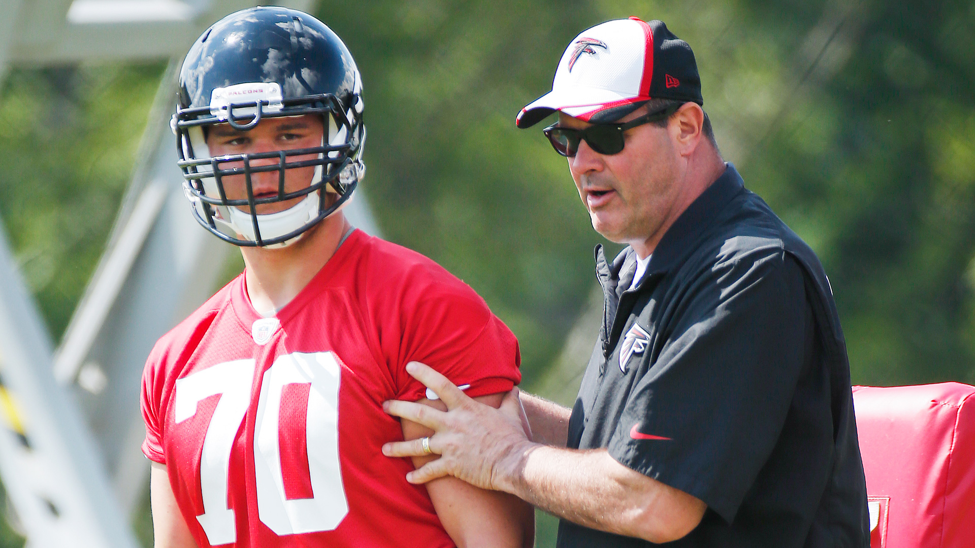 Falcons Jake Matthews shines on first day of rookie minicamp