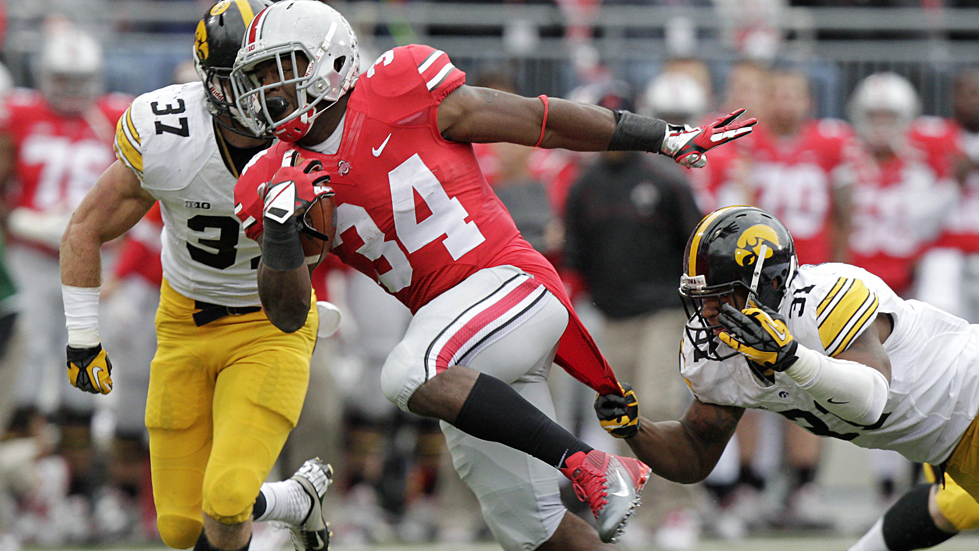 2014 NFL Draft --- 49ers select Carlos Hyde in second round