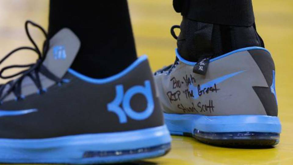 Kevin Durant Pays Tribute To Stuart Scott Nba Sporting