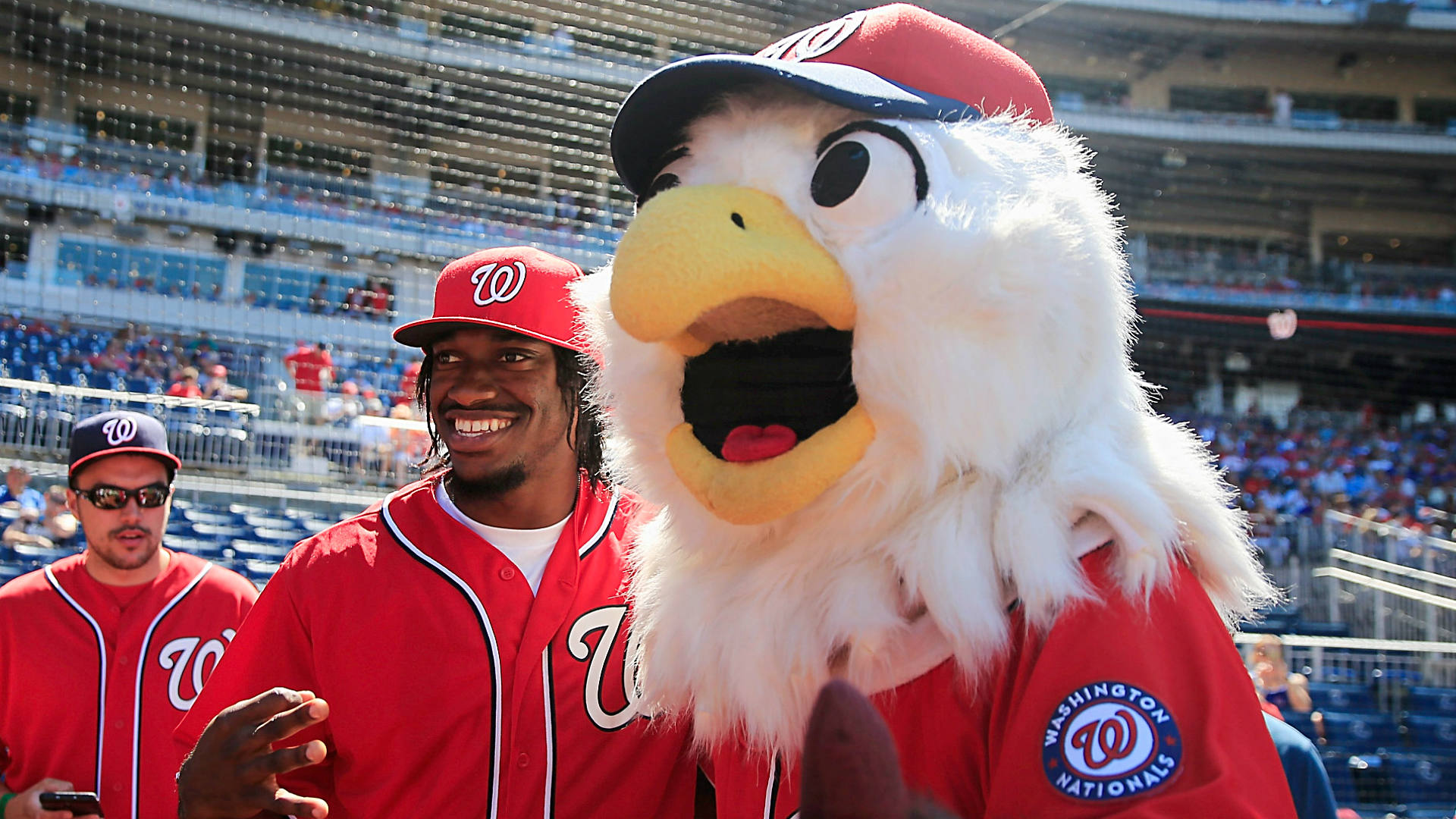 nationals mascot coloring pages - photo#32