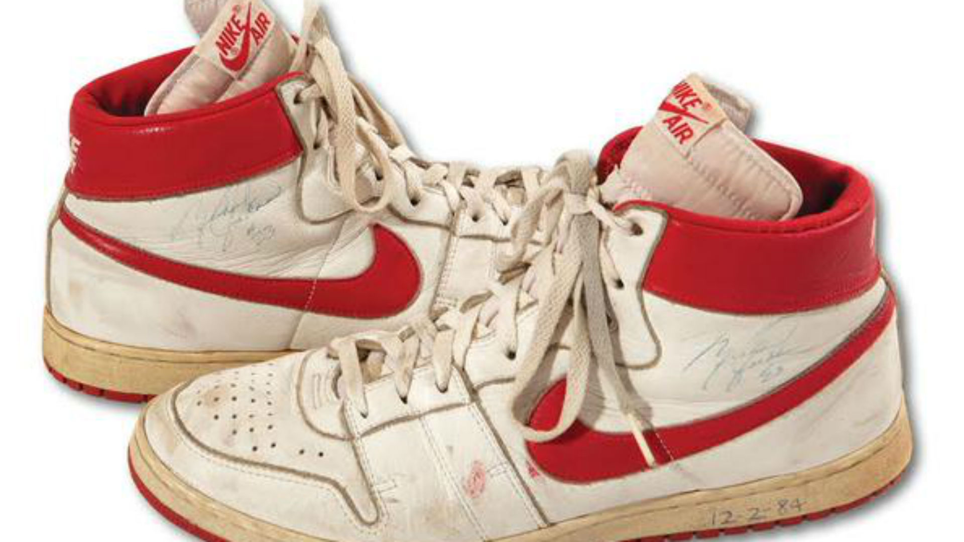 Michael Jordan's rookie season game-worn sneakers go for over $70,000