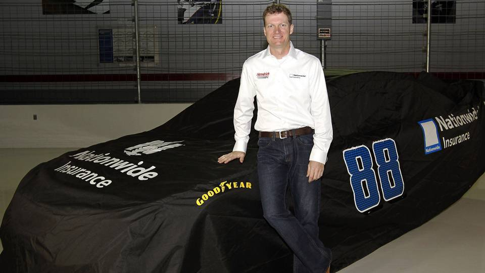 Nationwide Wedding Insurance: Dale Earnhardt Jr. Worth The Price For Nationwide