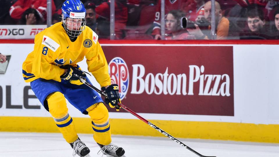 rasmus dahlin heads iss hockey s ranking for 2018 nhl