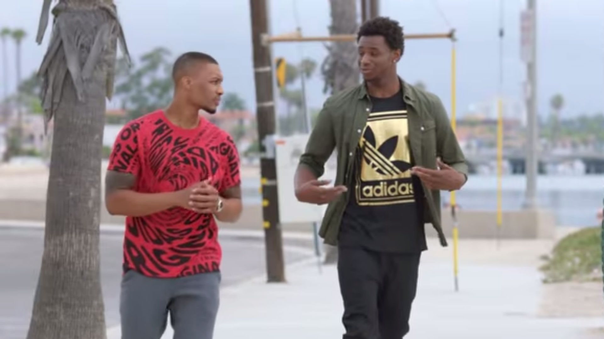 Damian Lillard, Andrew Wiggins, Jimmy Kimmel star in new Foot Locker Adidas commercial
