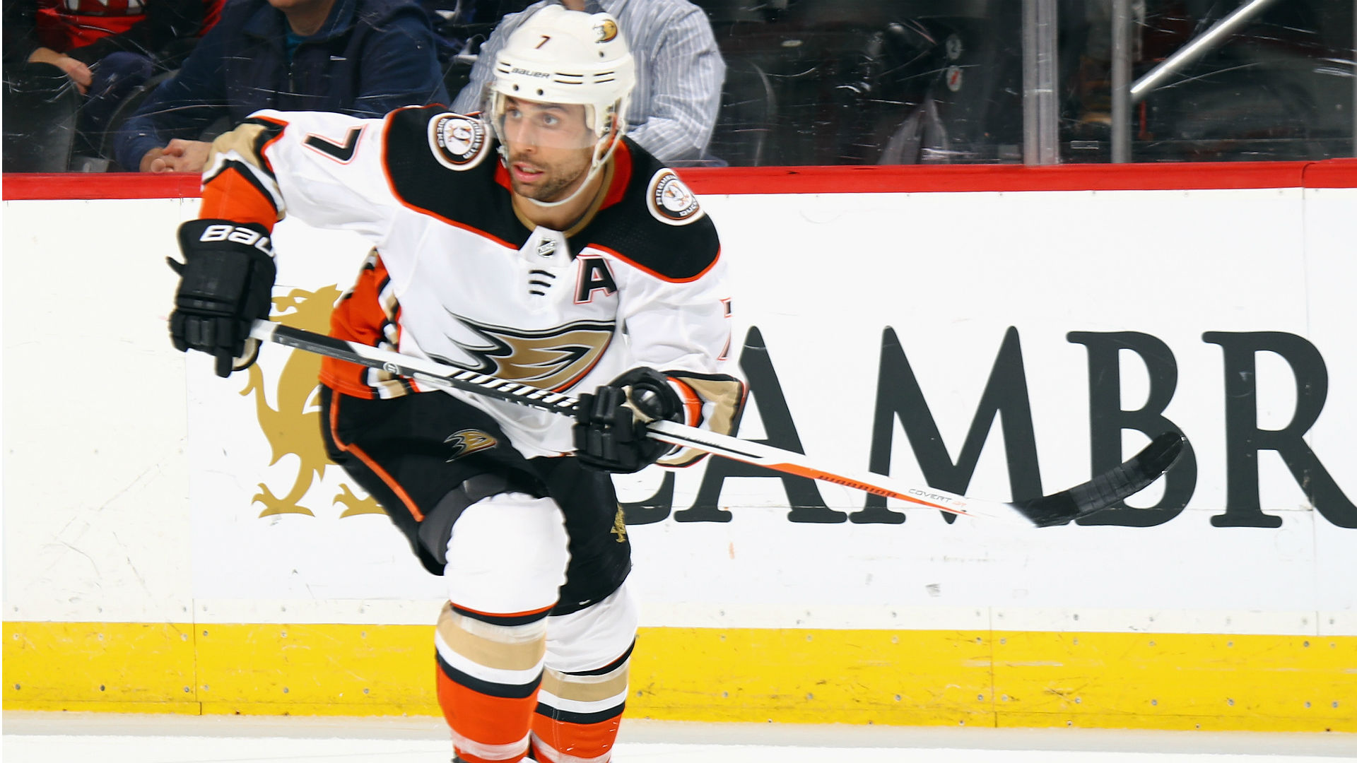 Andrew Cogliano's consecutive games streak ends as Ducks fall to Avalanche