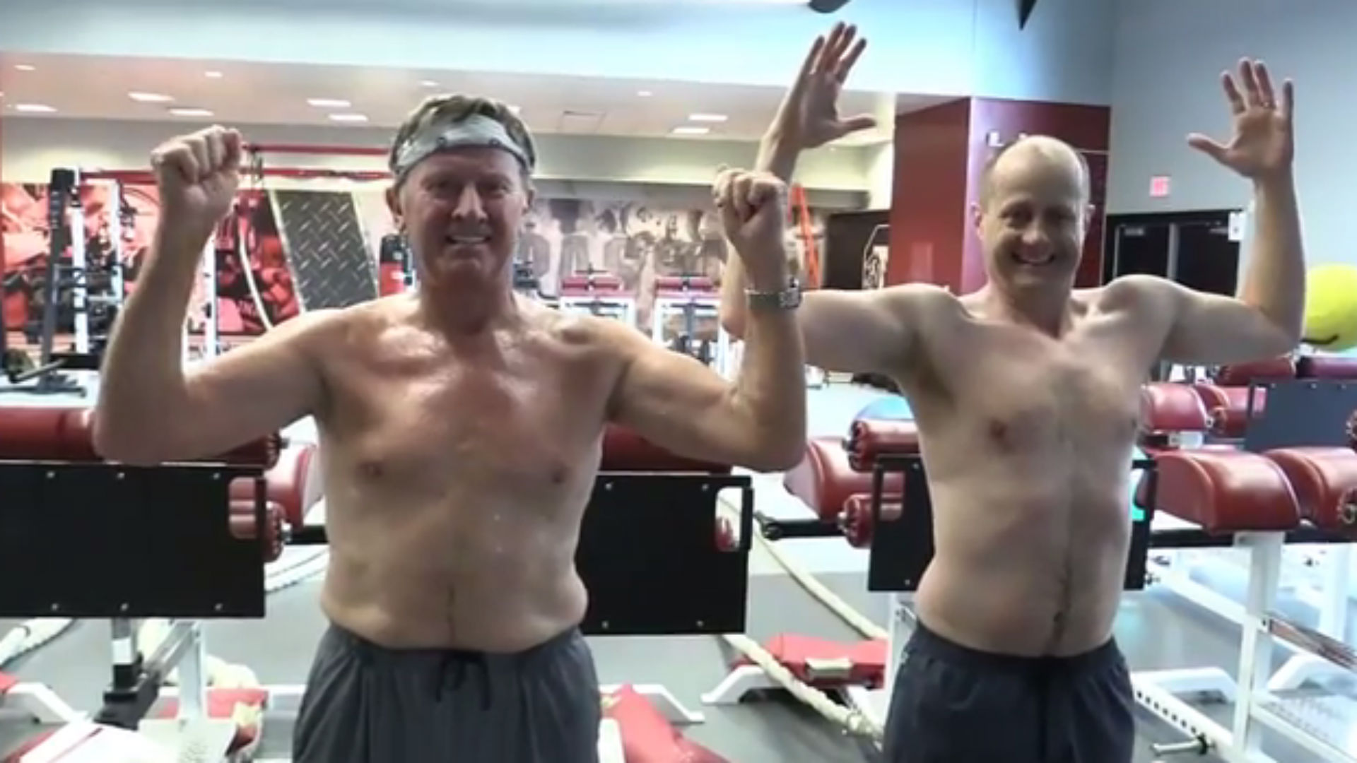 Steve Spurrier's workout will make you feel shame