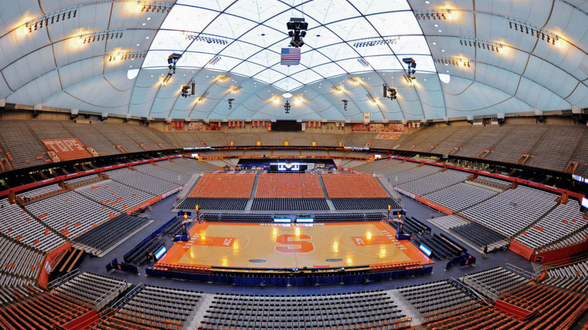 Syracuse Unveils Piece To Carrier Dome Makeover A Change