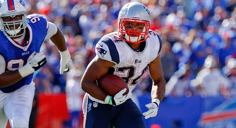 Fantasy football: Vereen's injury gives Ridley second chance