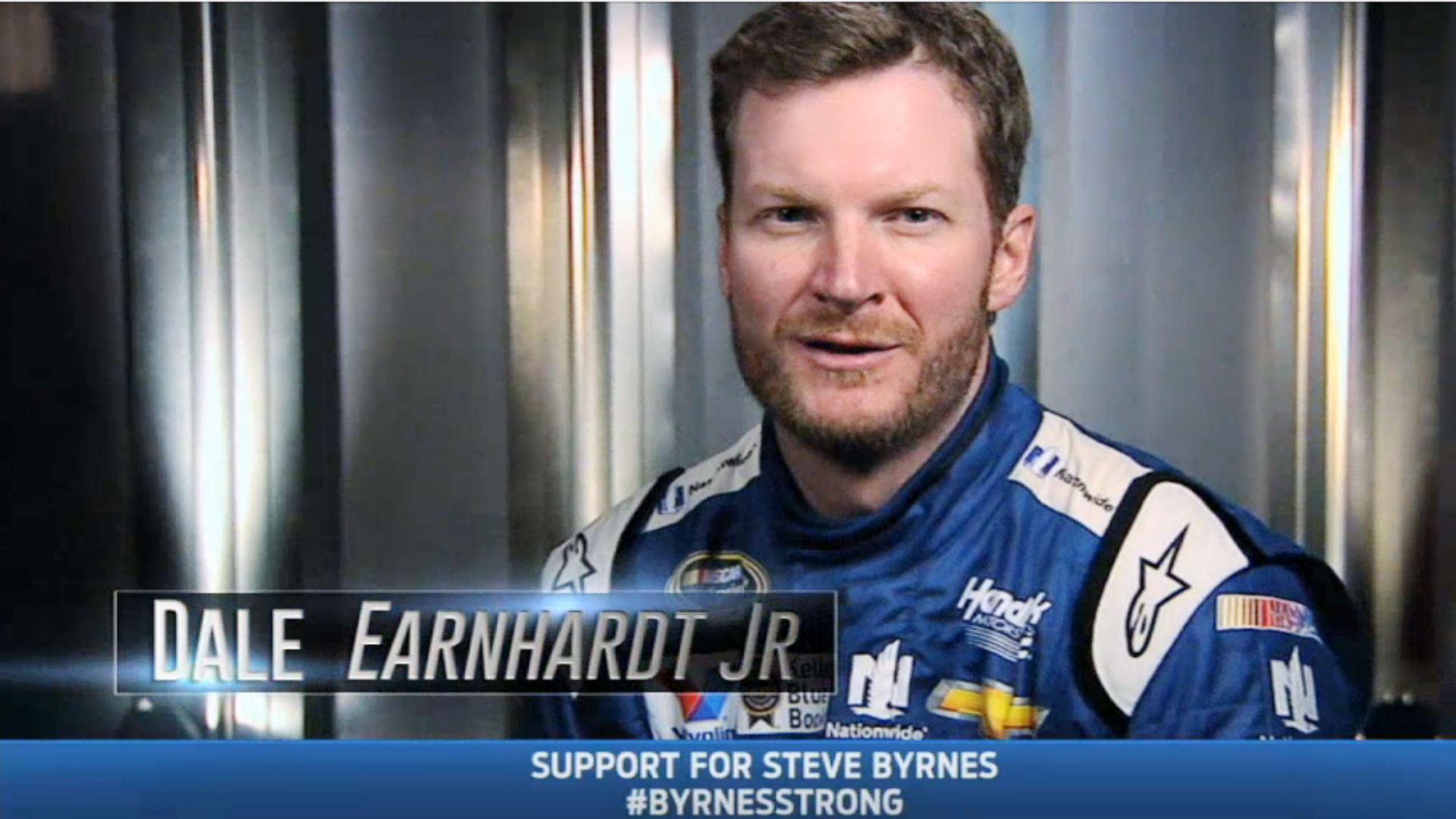 VIDEO: Drivers show support for Steve Byrnes heading into Sunday's race