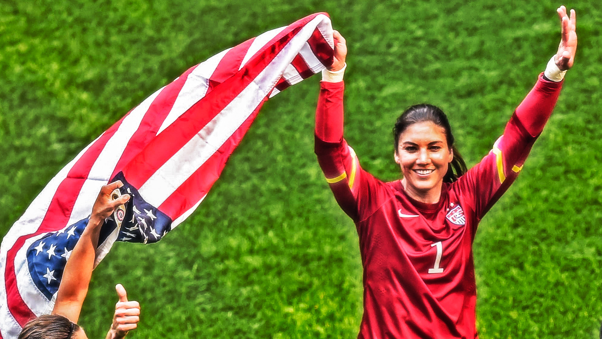 A glimpse at Hope Solo's goal-stopping, goal-achieving soccer career