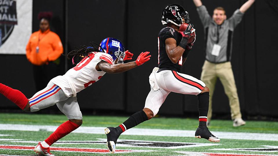 Giants Vs Falcons Score Results Highlights From Monday Night