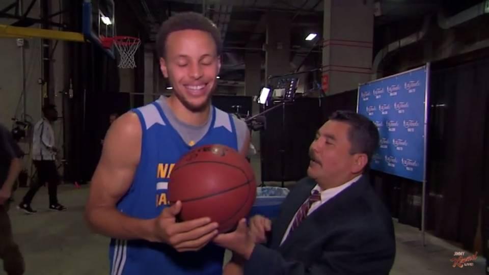 Guillermo On Jimmy Kimmel Nba Finals 2015 | Basketball Scores