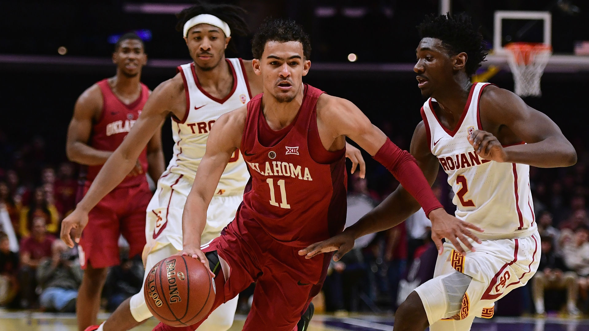 Freshmen showdown/Sexton, Young face off as Alabama hosts Oklahoma — COLLEGE BASKETBALL