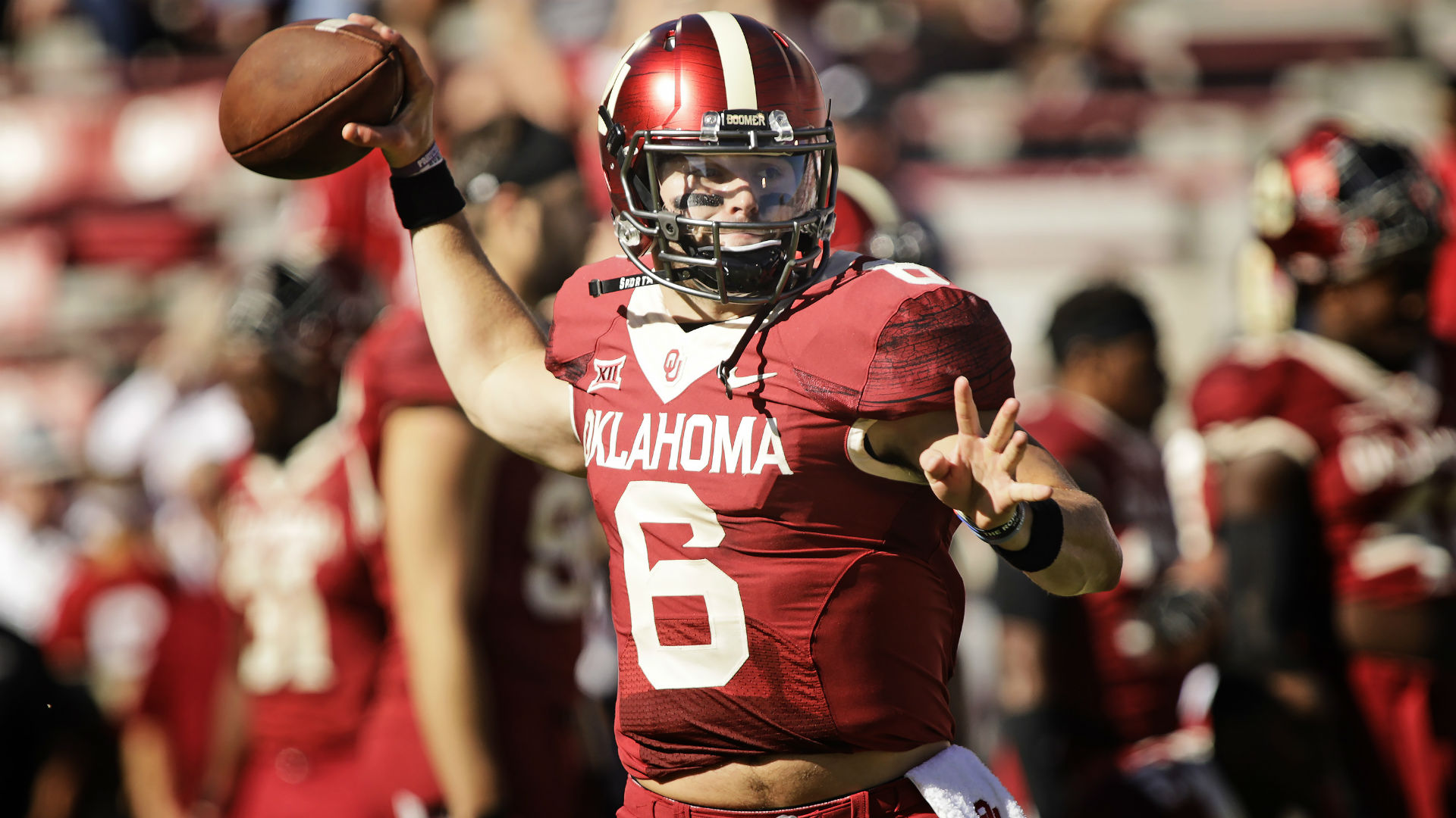 Baker Mayfield Hd >> Oklahoma vs. Texas: Live updates, scores and highlights from Red Ri...