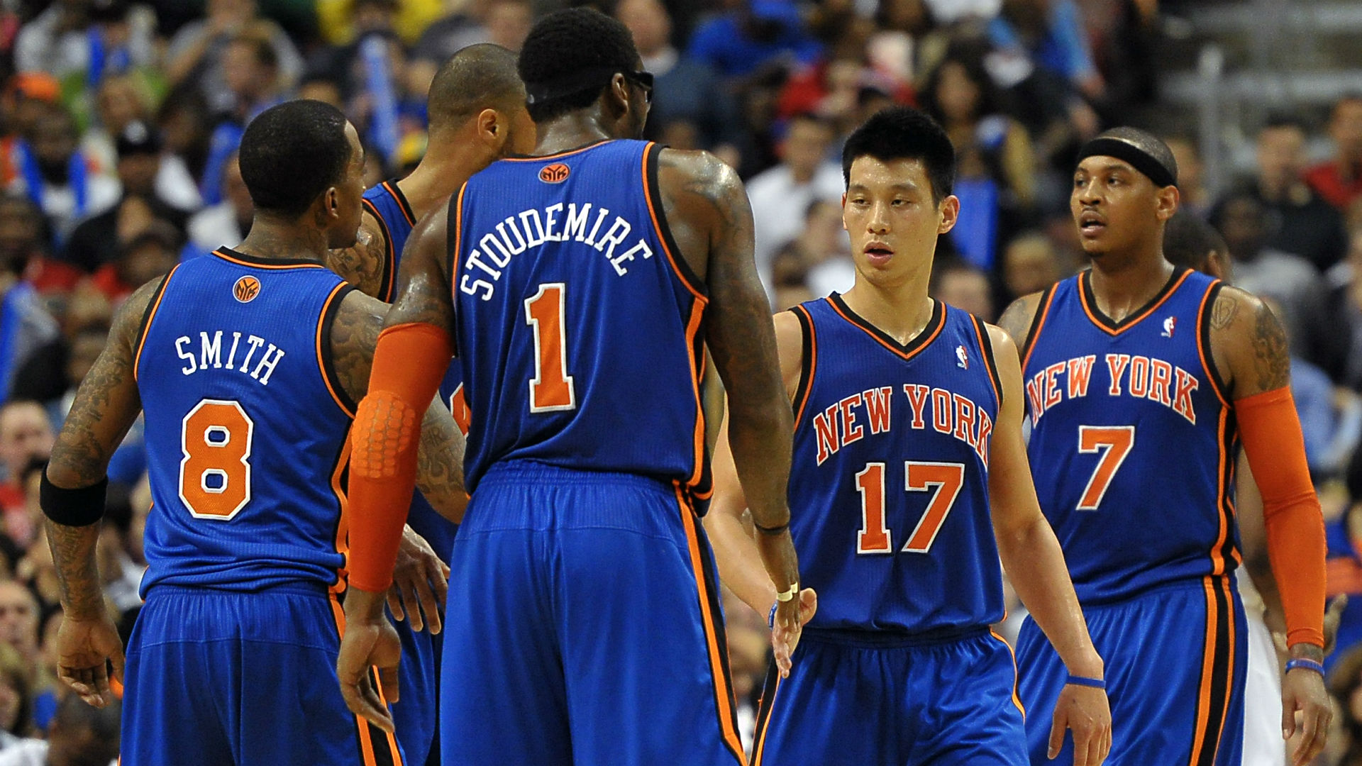 Amar e Stoudemire says Knicks didn t embrace Jeremy Lin Carmelo