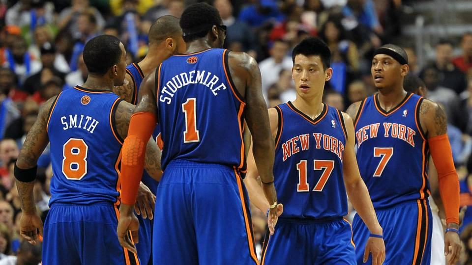 3c6a82b3c37 Amar e Stoudemire says Knicks didn t embrace Jeremy Lin  Carmelo disagrees