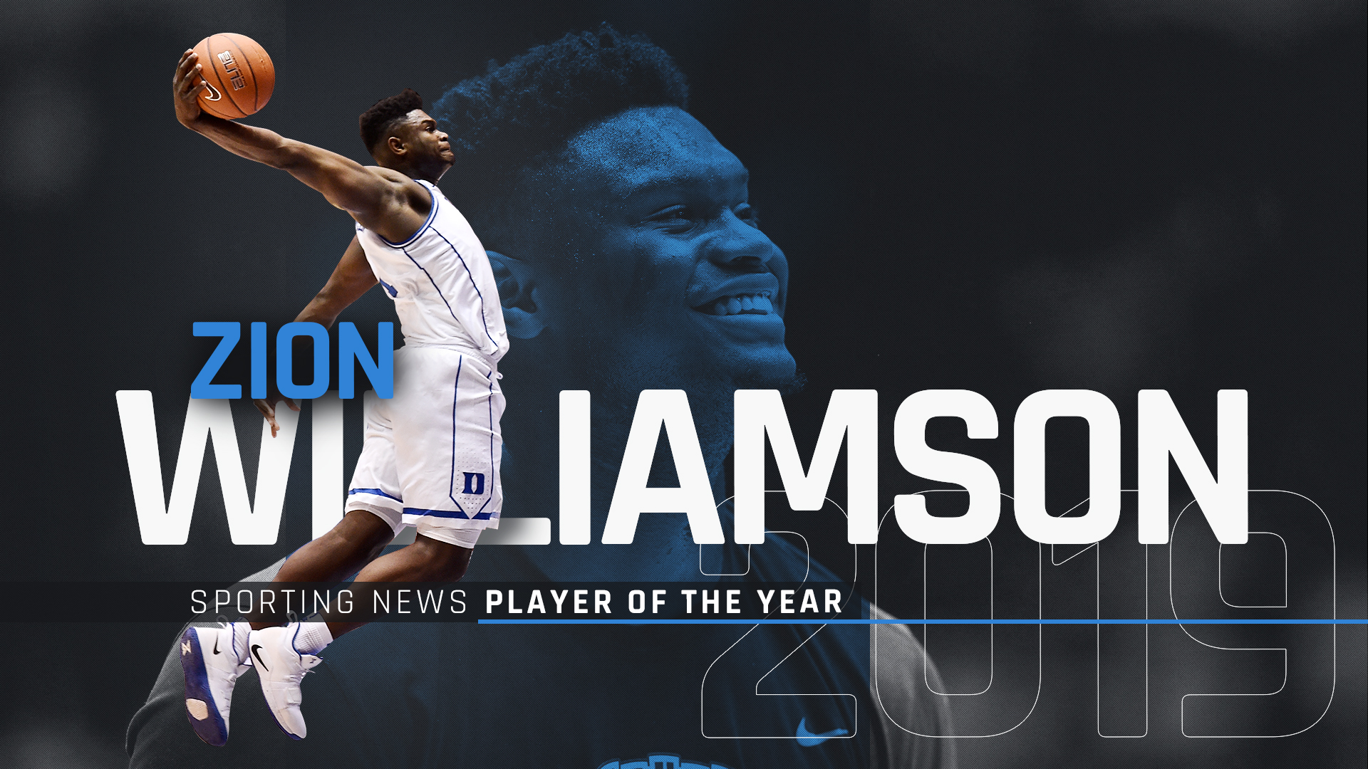 Duke's Zion Williamson is Sporting News Player, Freshman of the Year - NCAA Basketball - Sporting News ...