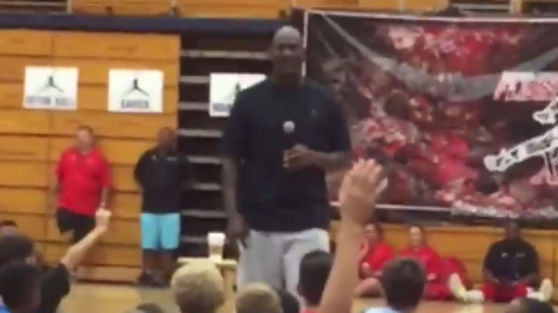 Michael Jordan embarrasses camper for asking silly meme question