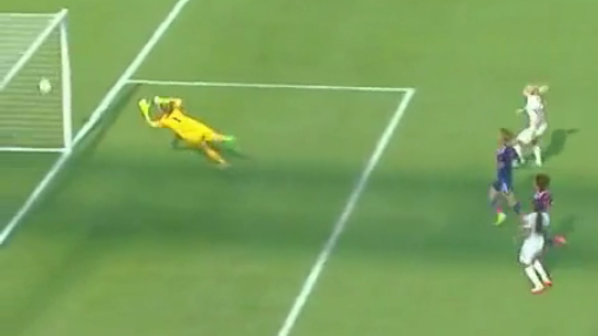 England loses on heartbreaking own goal with seconds left in the match