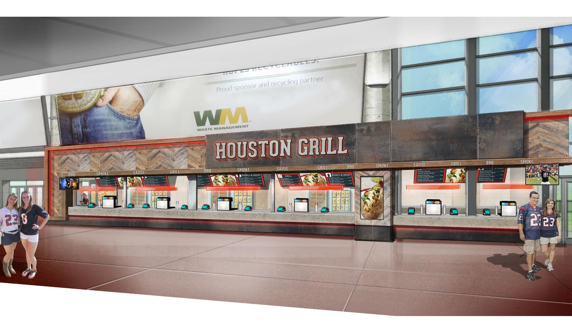 Houston 39 s nrg stadium upgrading food operation for 2017 for Dining near at t stadium