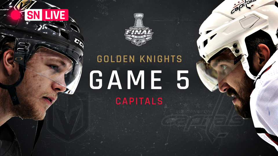 Stanley Cup Final 2018: Golden Knights vs. Capitals live score, updates from Game 5
