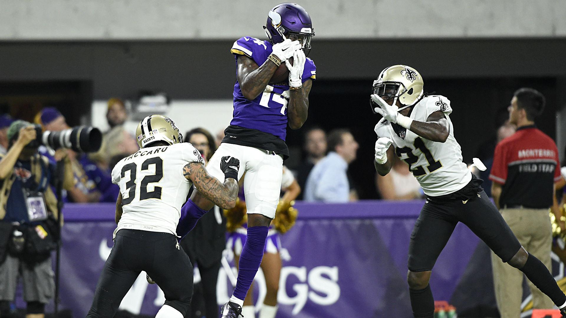 Slingin' Sam: Bradford throws Vikings past Saints