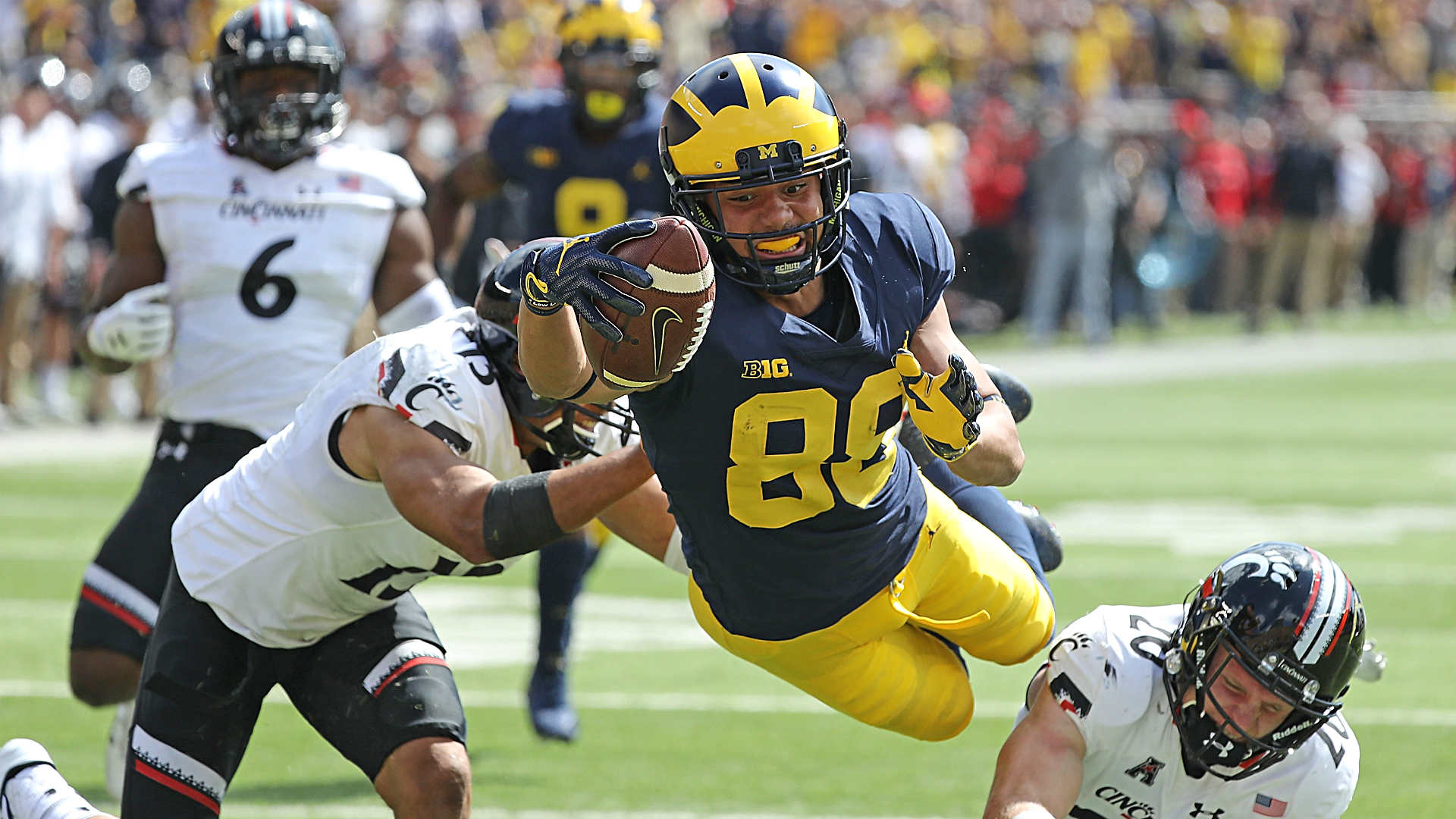 Instant Recap, Reaction, Highlights & More From Michigan's 36-14 Win Over Cincinnati