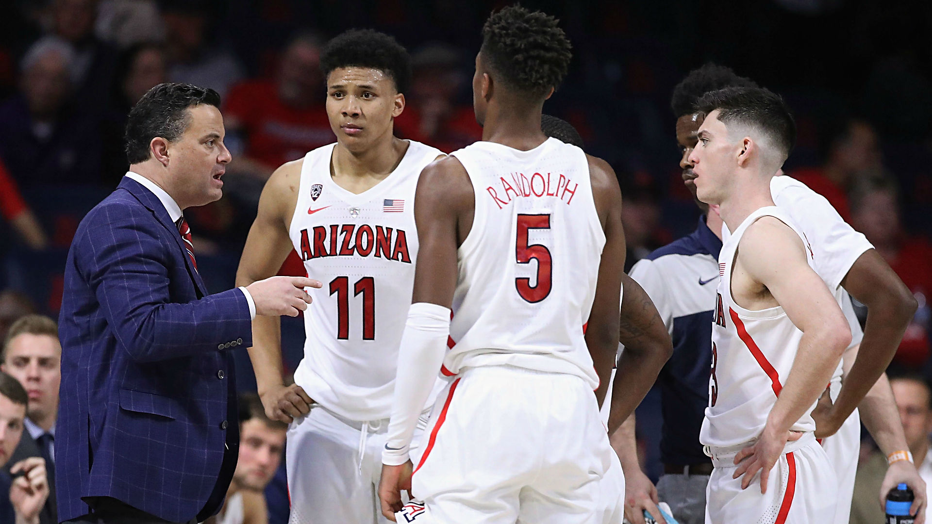 Arizona Coach Sean Miller Thanks Fans in Emotional Address